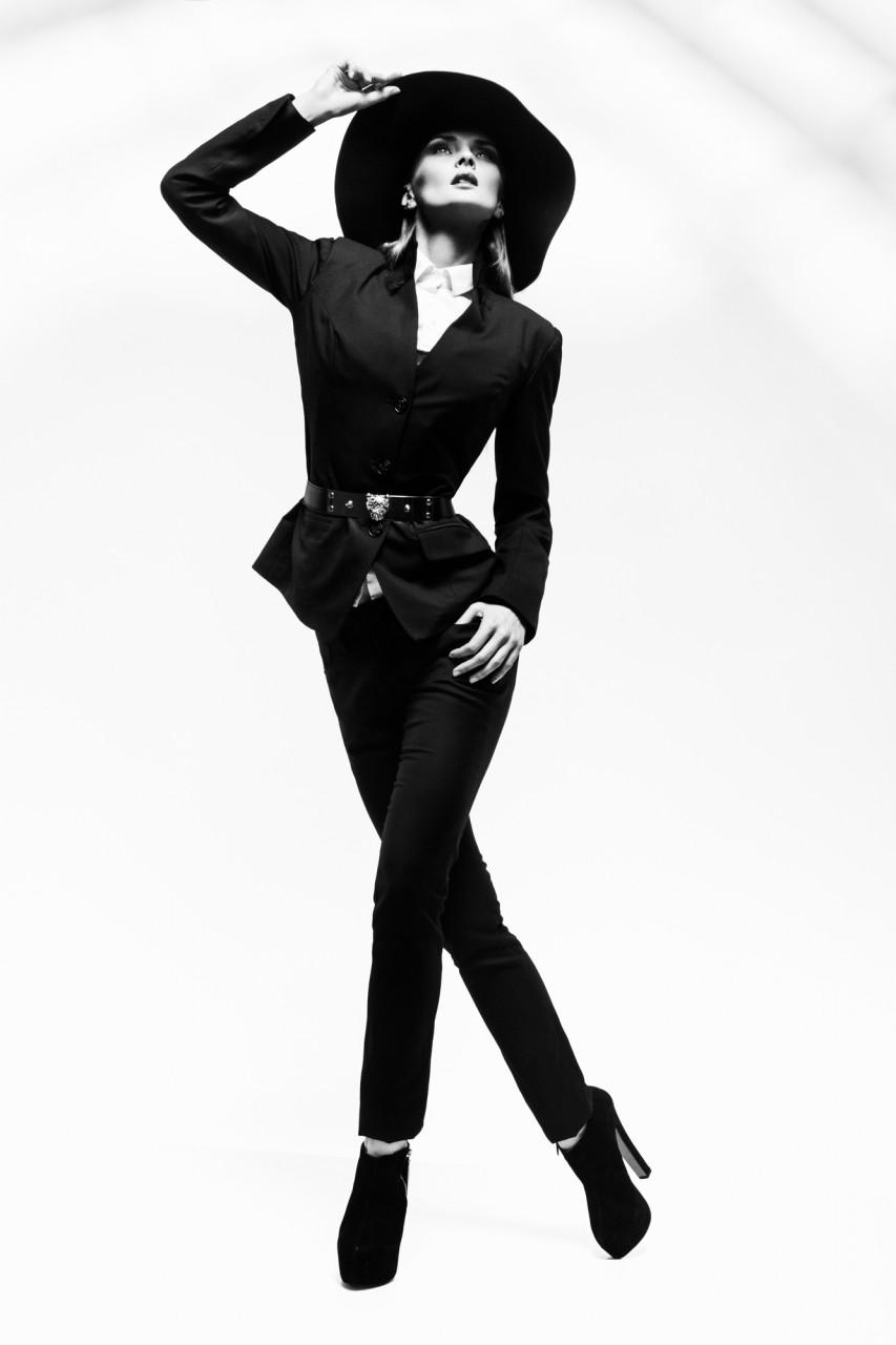 Lady noir